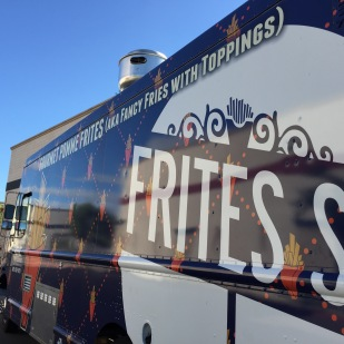 The Frites Street truck.