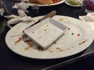 Vanished meatloaf sandwich