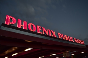 I wasn't able to soften the letters. More training is in order. I haven't been to the Phoenix Public Market yet but it's on my list. 14 E Pierce St.