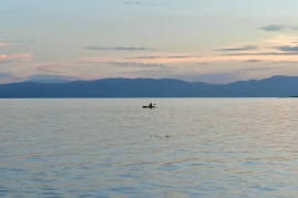 A man on Lake Chapala