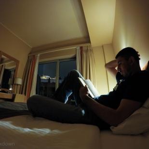 Reading under millennia.