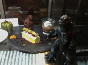 Guarding dessert.