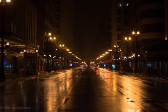 Streets of Chicago.