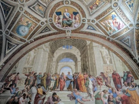 School of Athens by Raphael.