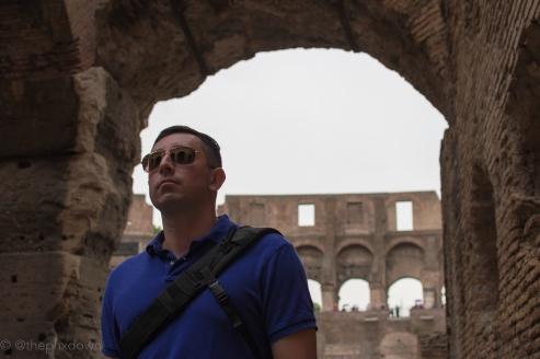 Inside The Colosseum.