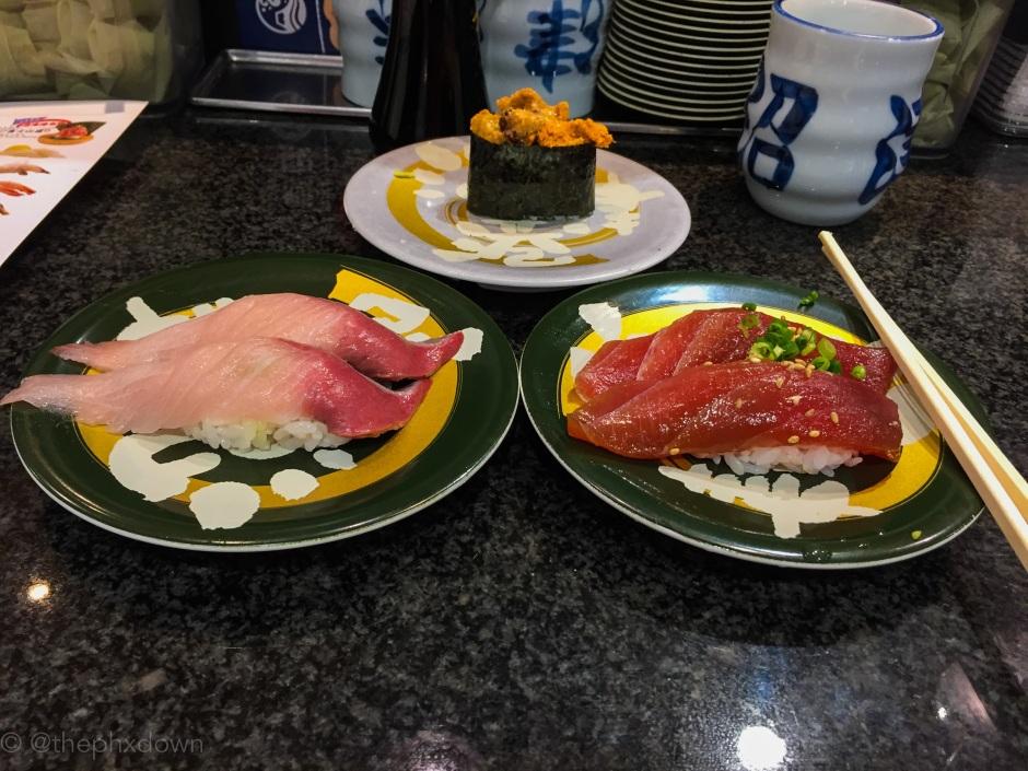 Tokyo sushi.