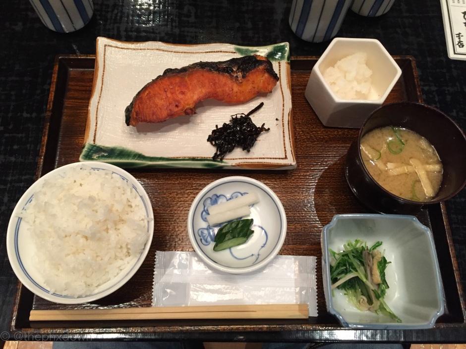 Tokyo lunch.