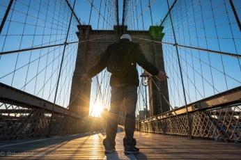 BKYN Bridge sunrise